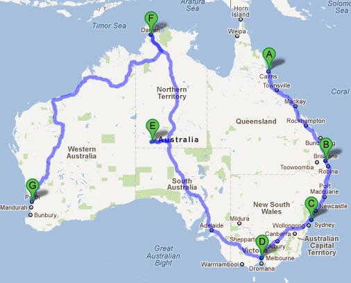 drive australia trivia