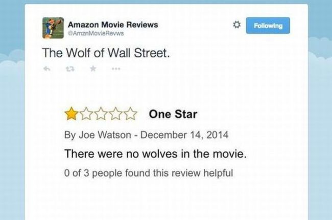 wolf of wall street review trivia