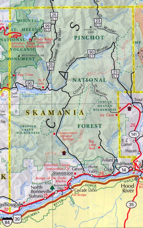 skamania county trivia