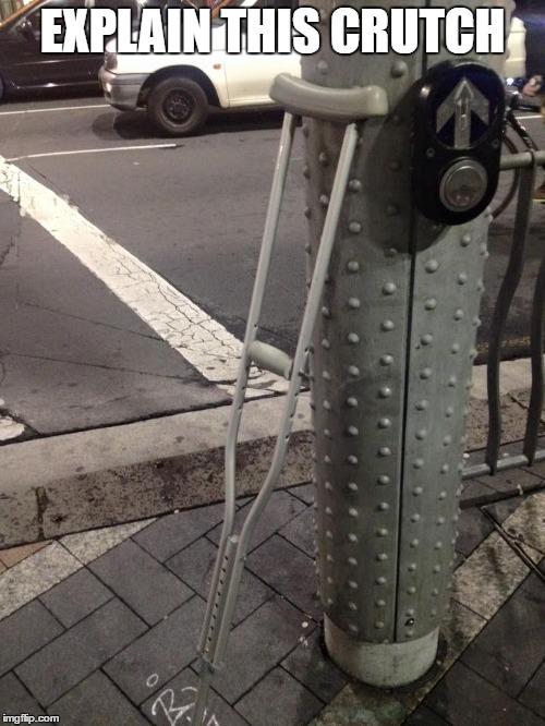 explain this crutch trivia