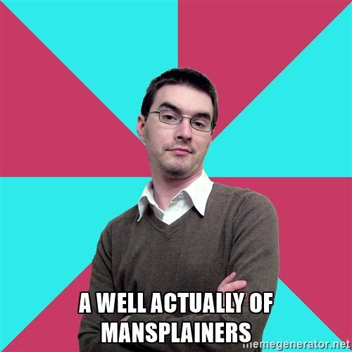 mansplaining trivia