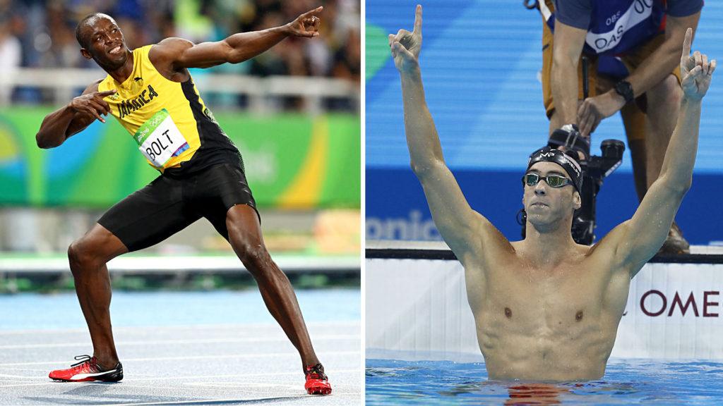 bolt phelps olympics trivia